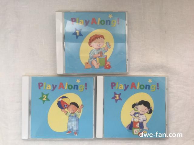 「ディズニー英語システム(DWE)」プレイアロングCD3枚組