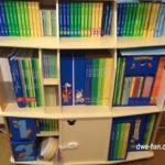 ディズニー英語システム(DWE)フルセットの本棚