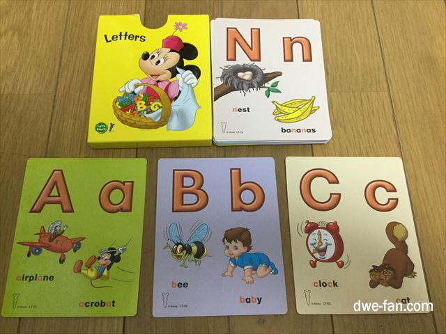 DWEゲームカード「Letters」ABC