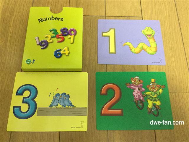 DWEゲームカード「Numbers」123