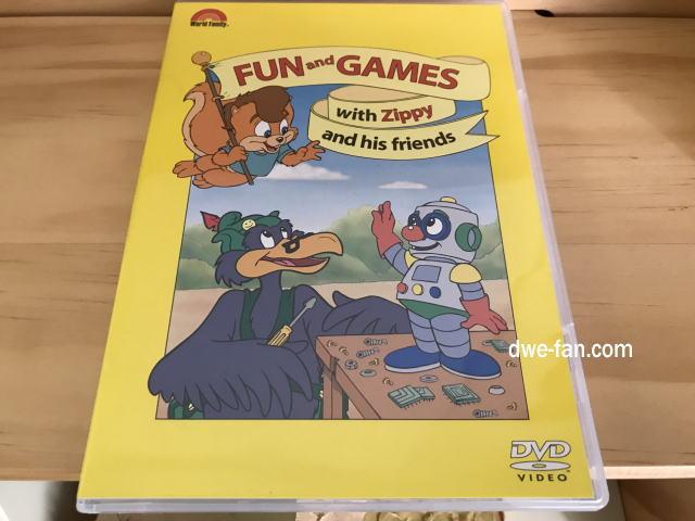 「ワールドファミリークラブ」これまで貰ったプレゼントDVD「Fun and games」