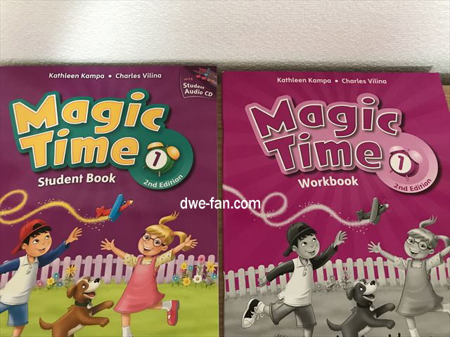 英語の教科書「Magic Time 1」(2/E)Student Book & Work Book