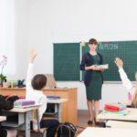小学校の英語の授業、ネイティブの先生